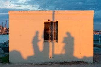 Shadow, South Mole, Fremantle